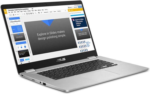 2. Asus Chromebook C523