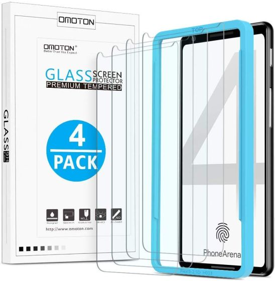 3. OMOTON best pixel 4 screen protectors