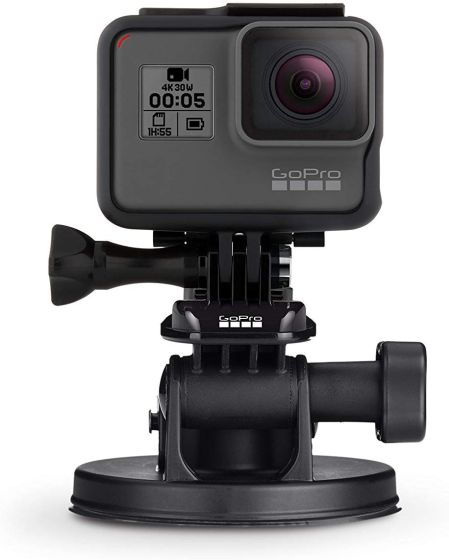 6. GoPro Suction Cup Mount Best GoPro Hero 8 Black Accessories