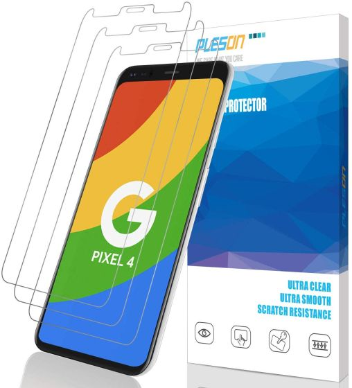 7. Pleson best pixel 4 screen protectors