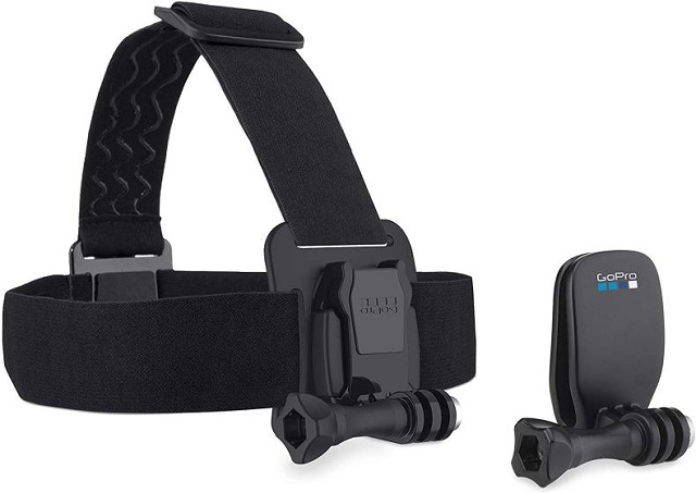 8. GoPro Head Strap + QuickClip Best GoPro Hero 8 Black Accessories
