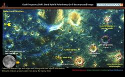 Chandrayaan Moon Impact Craters website