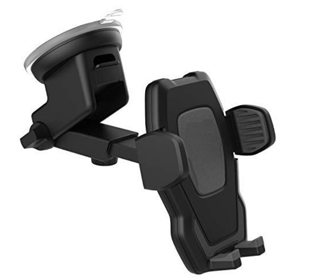 Encased car mount holder