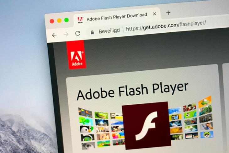 Flash Player shutterstock website