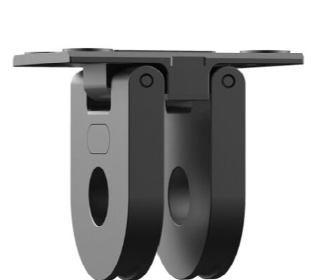 Folding adapters for GoPro Max