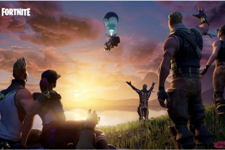 Fortnite wipes out game map, livestreaming a black hole in its place