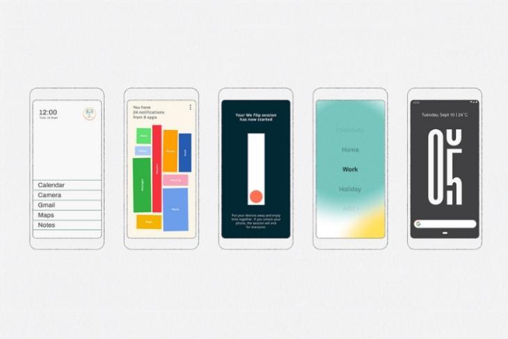 Google Digital Wellbeing Experimental apps