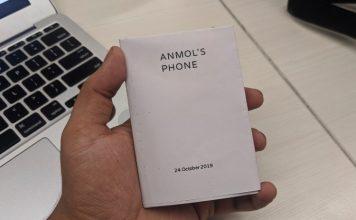 Google Paper Phone digital wellbeing experiment