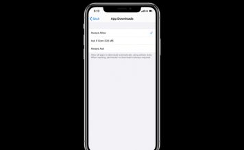 How to Remove 200MB Cellular Download Limit on iOS 13