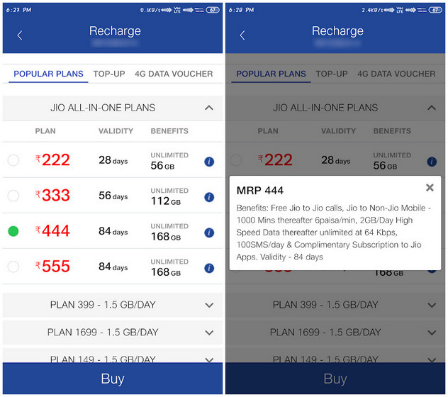 Reliance Jio Launches 4 New All-in-One IUC Plans, Starting at Rs 222