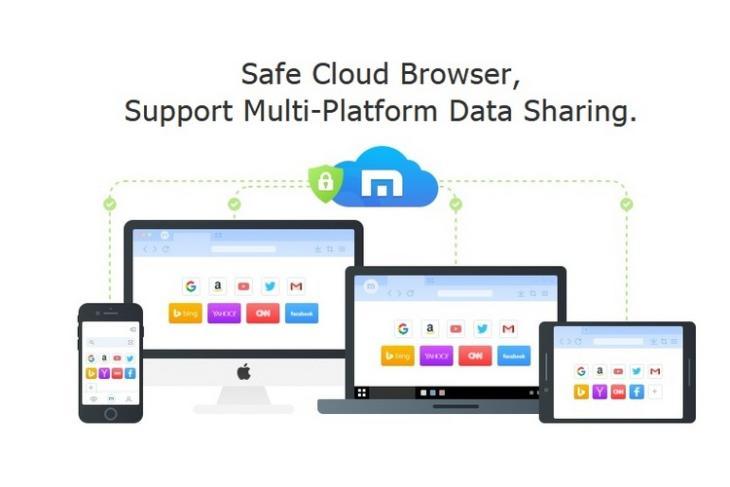 Maxthon Browser website
