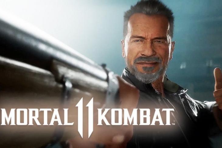 Mortal Kombat 11 Terminator website