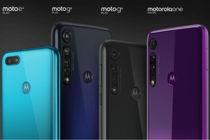Moto G8 Play website