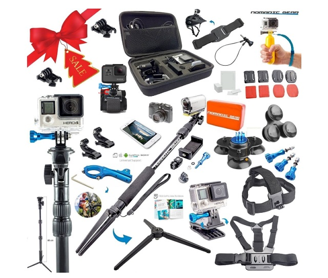 Nomadic accessories kit for GoPro Max