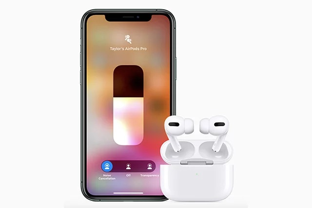 Pairing AirPods Pro with your iPhone
