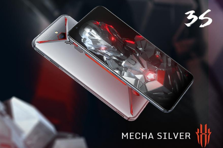 Red Magic 3S mecha silver
