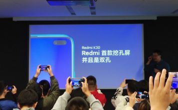 Redmi K30 shown off in China with dual punch-hole camera and 5G support