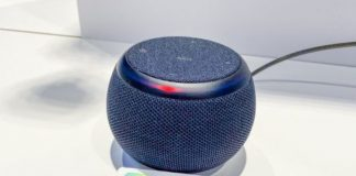 Samsung Galaxy Home Mini speaker shown off at dev con