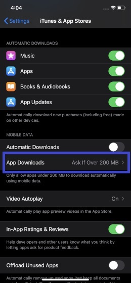 Select App Downloads