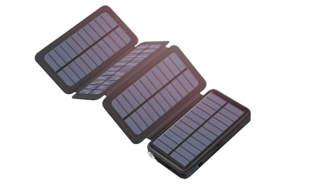 Solar Powered Power Bank for GoPro Max