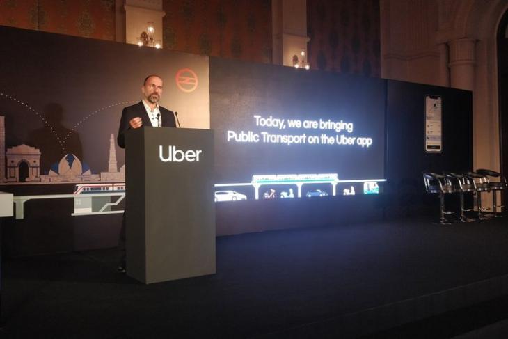 Uber Delhi Metro Dara Khosrowshahi website