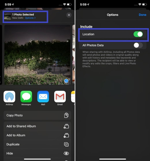 Wipe Out Geotags from Videos and Photos on iOS 13