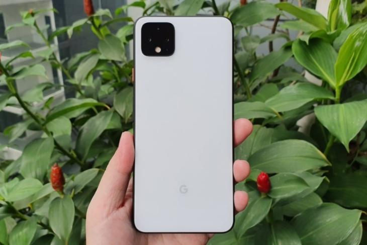 pixel 4 rear