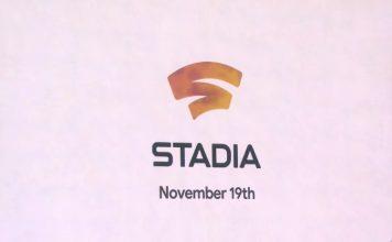 google stadia launch date