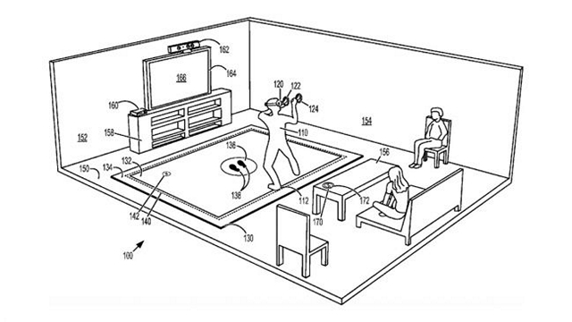 Microsoft Patents Vibrating VR Floor Mat to Keep You Safe