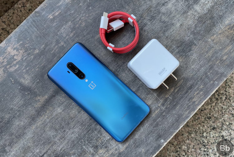oneplus 7t pro - 30t warp charger