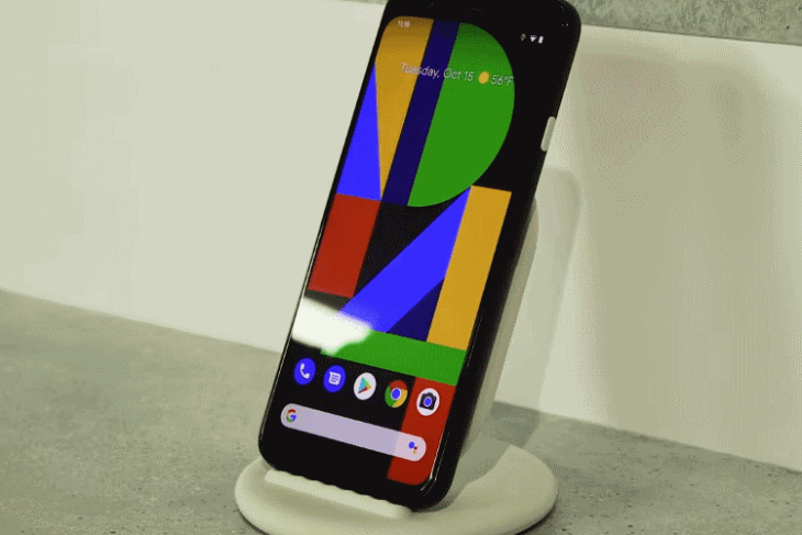 pixel 4 wireless charging – courtesy engadget