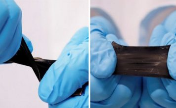 stretchable batteries