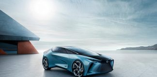 toyota lexus electric car