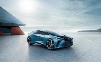 toyota lexus electric car