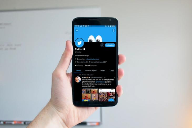 twitter lights out theme comes to Android