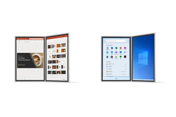 windows 10x dual screen announced