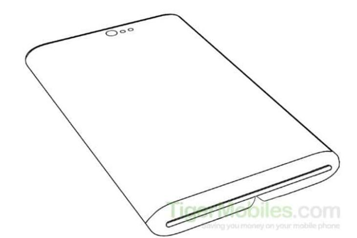 xiaomi foldable phone punch hole camera patent