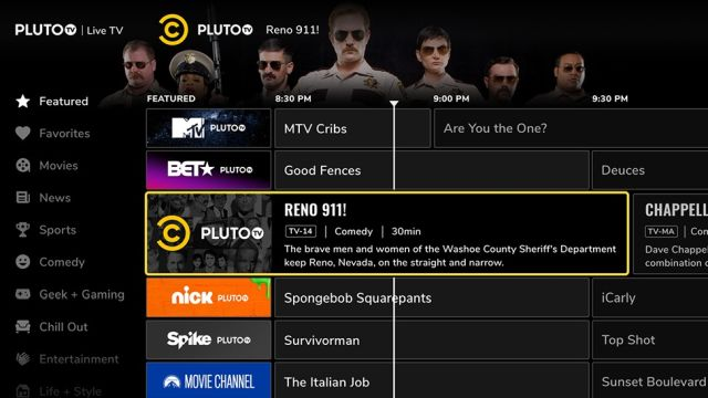 pluto tv Best Cable Alternatives