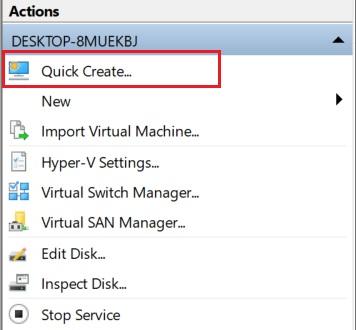 2. Create Windows 10 Virtual Machine 2