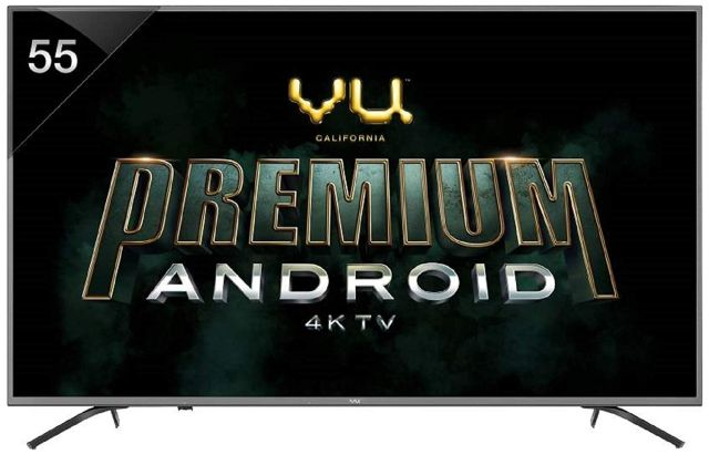 4. Vu Premium Android TV 55 Inch