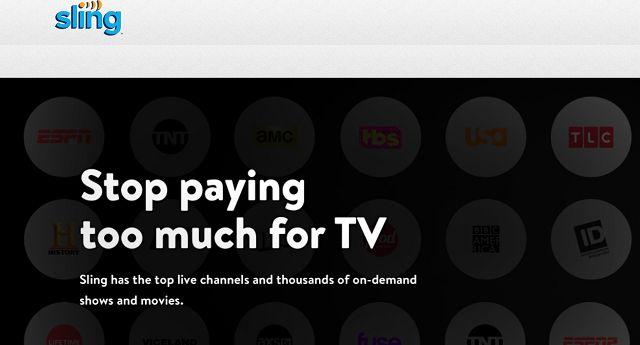 sling tv Best Cable Alternatives