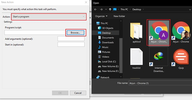 automate tasks on windows 10