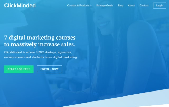 8. ClickMinded Digital Marketing Courses for Professionals