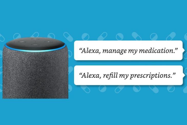 Amazon Alexa Medication Reminder skill website