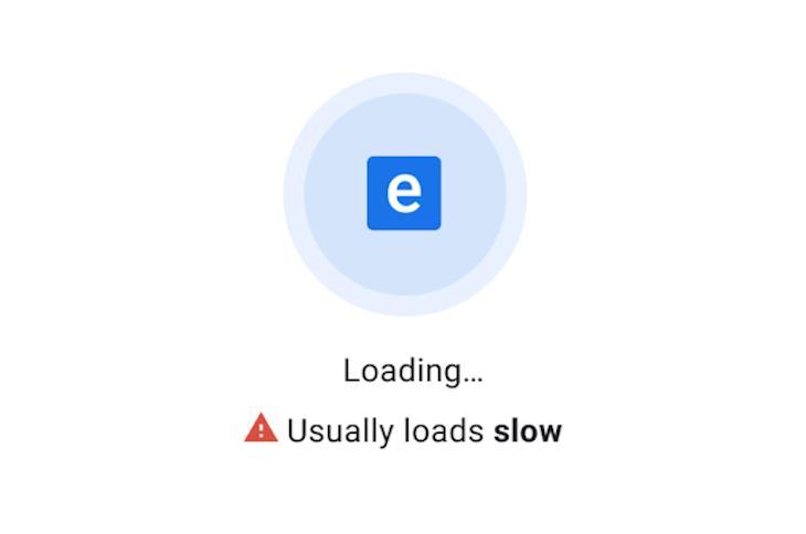 Chrome Slow Website Warning