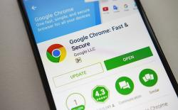 Chrome logo shutterstock website