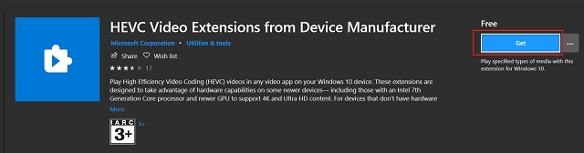 Enable Support for HEIC, HEIF and HEVC Files on Windows 10