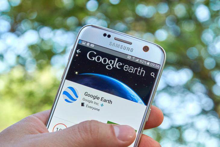 G Earth logo shutterstock website