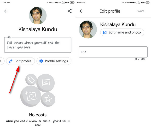 Here's how to use Google Maps new feature to manage your profile