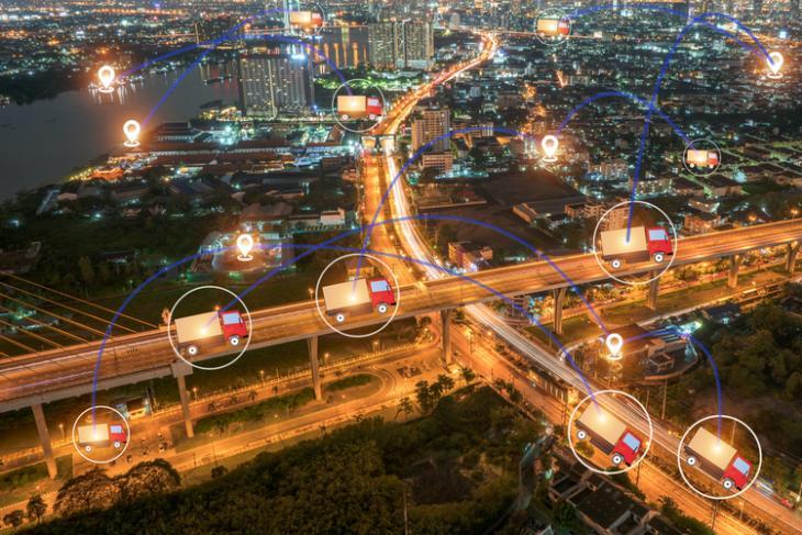GPS Tracking logistics shutterstock website